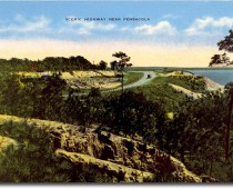Vintage Scenic Highway Photo