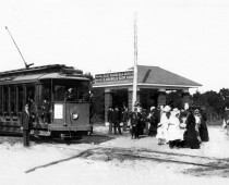 East Hill Street Car at Magnolia