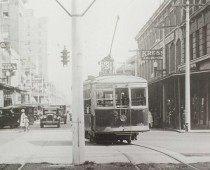 Palafox Street Car Near Kress Shop