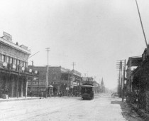 Palafox Street with Street Car