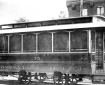 Pensacola Electric Co. Street Car