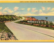 Scenic Highway Overlooking Pensacola Bay