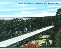 Scenic Highway along Pensacola Bay