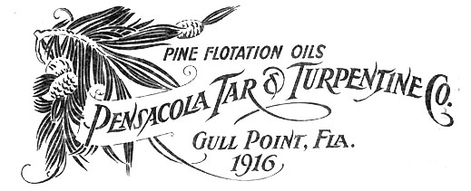 Gull Point, The Pensacola Tar & Turpentine Company, and the Wernicke Family – Part 2